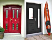 portes aluminium portes de garage sectionnelles menuiseries et 8880p1. Black Bedroom Furniture Sets. Home Design Ideas