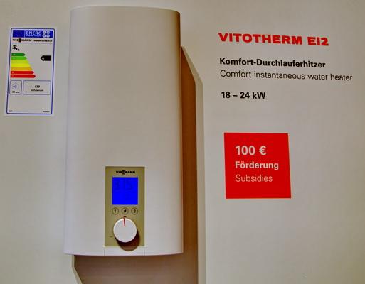 viessmann d voile son offre chauffage et eau chaude lectriques. Black Bedroom Furniture Sets. Home Design Ideas