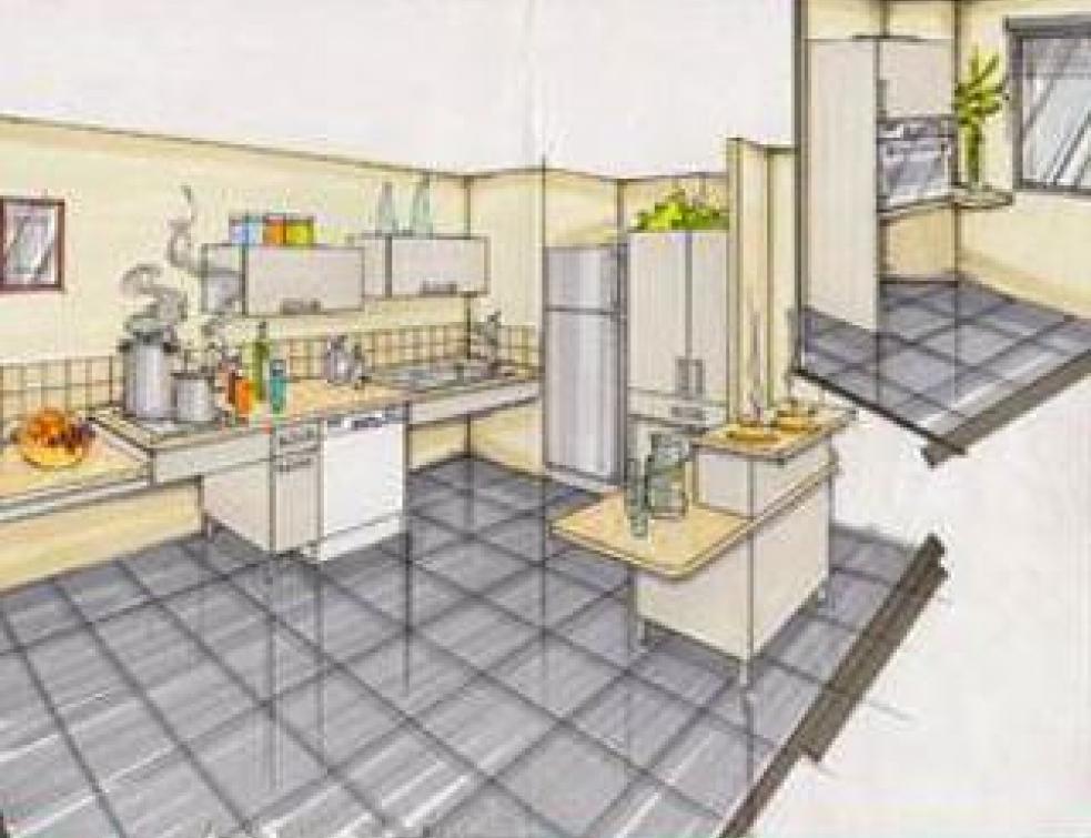 Agencer une cuisine pour personnes handicapées Mise en oeuvre