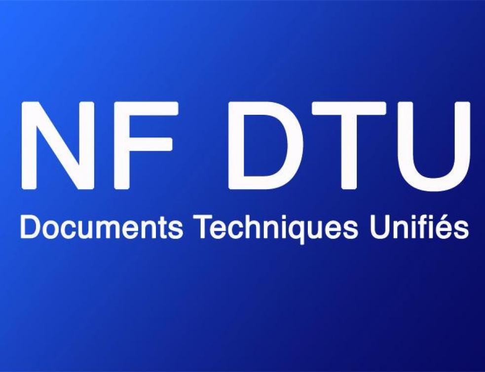 La Liste Des Dtu Documents Techniques Unifiés à Jour Liste Des
