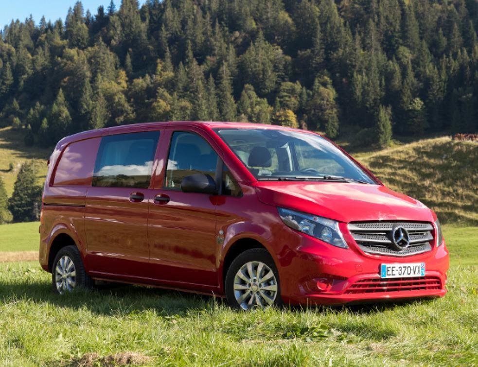 Mercedes Le Vito Traction Avant En Avant Toute Vehicules