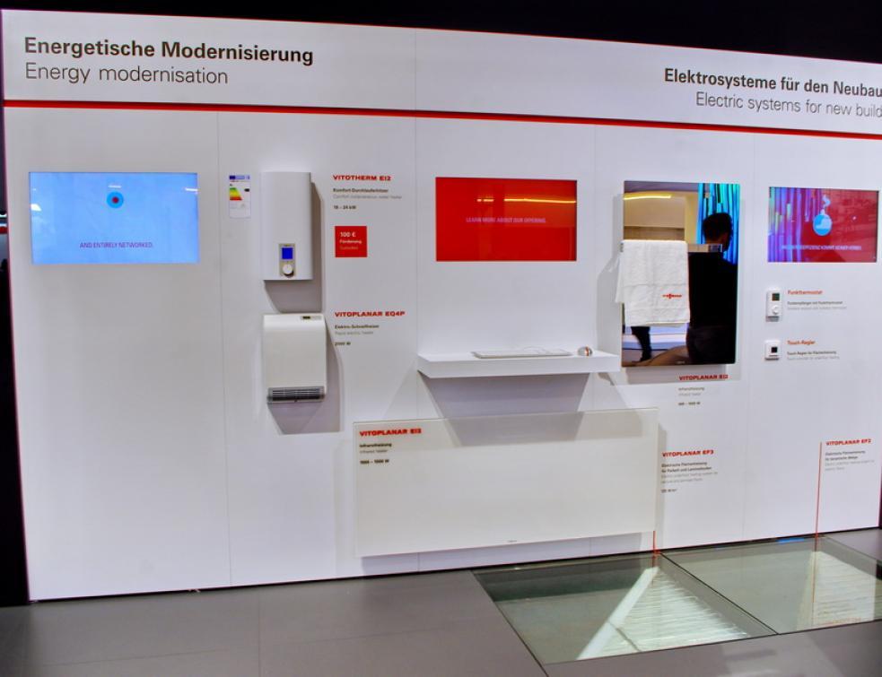 Viessmann Devoile Son Offre Chauffage Et Eau Chaude Electriques A Light Building