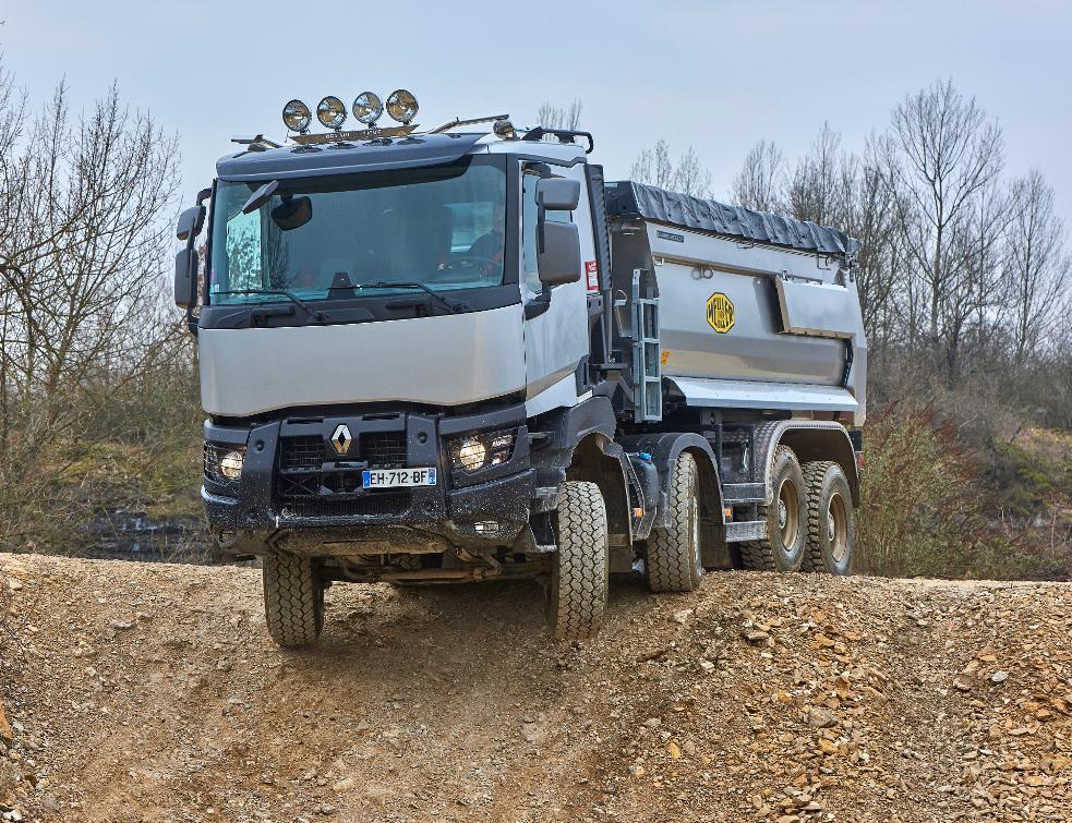 a29f67b1a76a2 Renault Trucks gamme K et C, des camions à toute épreuve Véhicules