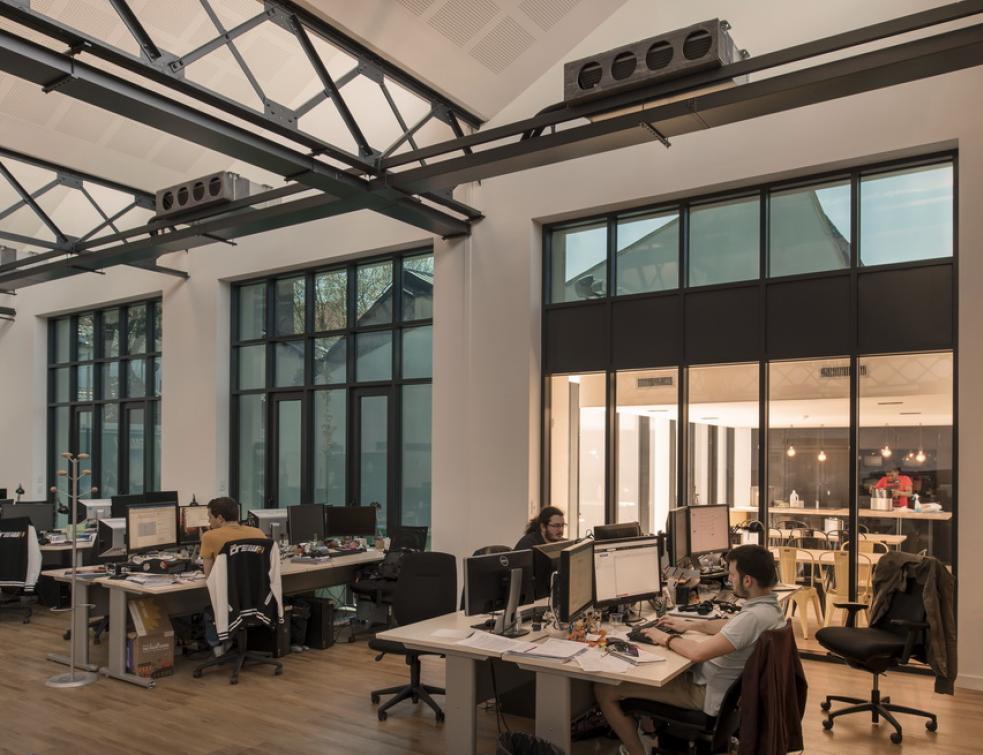 Ubisoft équipe ses bureaux lyonnais de verre électrochrome
