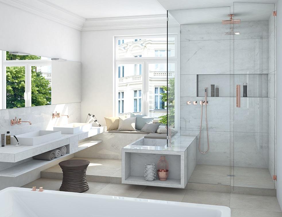 Niche de salle de bain : la solution pratique et esthétique par wedi