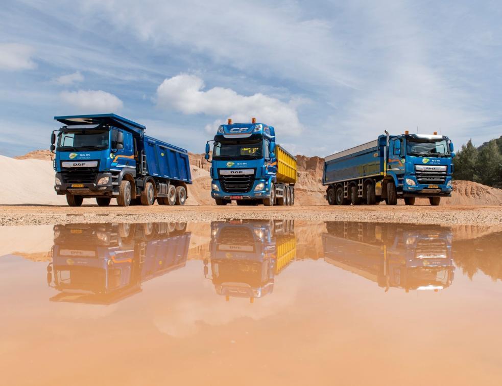 ace6b3d61dcec DAF pousse sa gamme de camions de chantier Véhicules utilitaires
